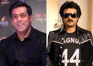 Salman Khan and Rajinikanth